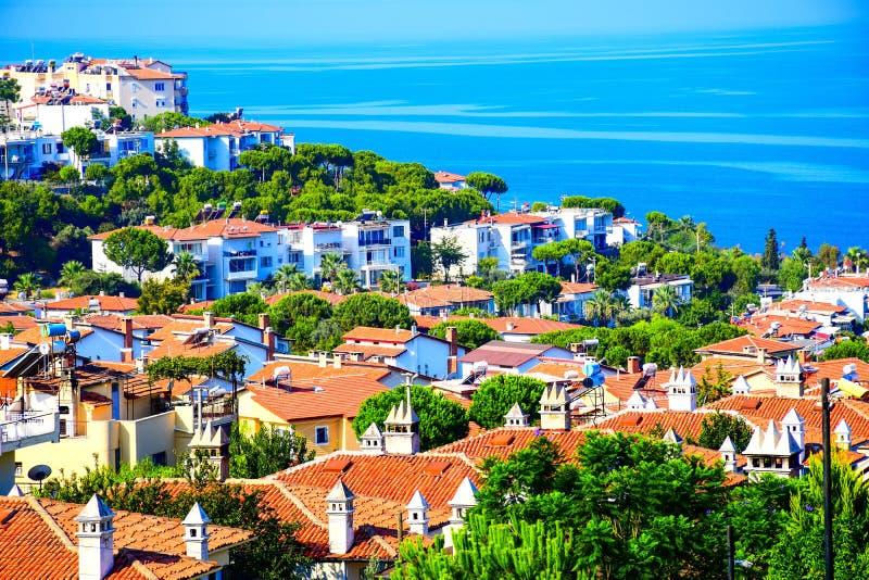 The Aegean Sea at Kusadasi Turkey. The Aegean Sea at Kusadasi  turkey royalty free stock photo