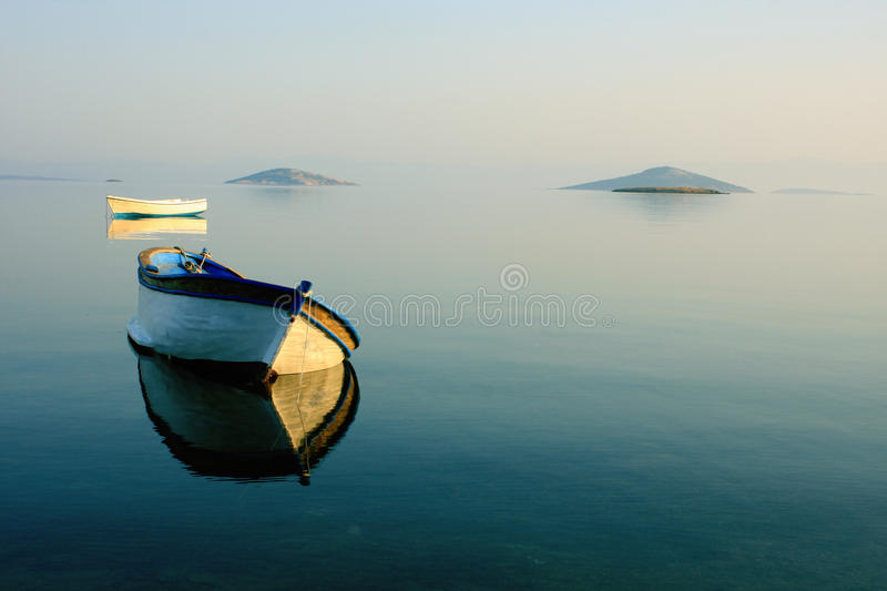 Aegean sea landscape stock photos