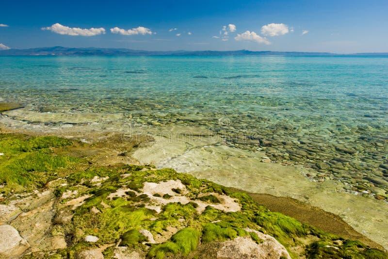 aegean seascape fotografering för bildbyråer