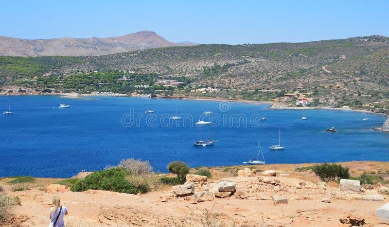 Aegeon Beach-2 stockfoto