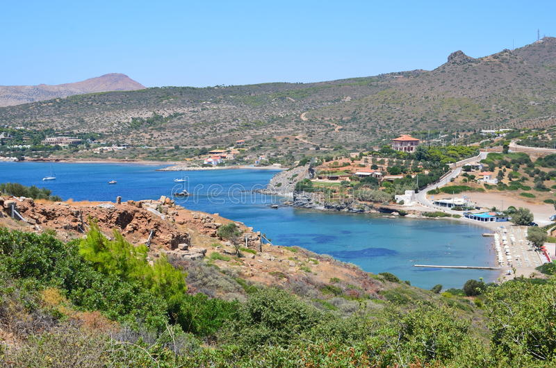Aegeon Beach-3 lizenzfreie stockfotos