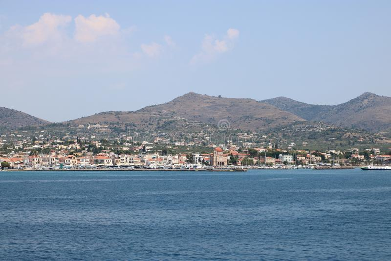 Aegina, Griekenland stock foto