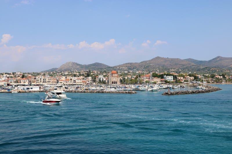 Aegina, Griekenland royalty-vrije stock foto