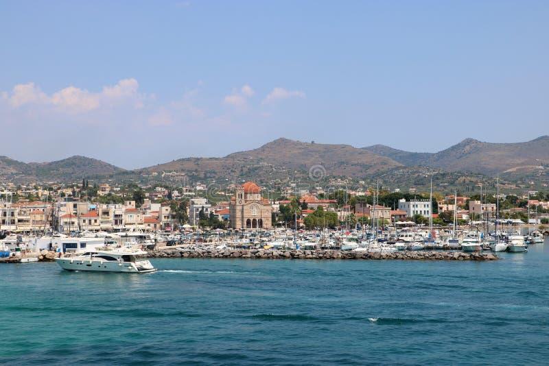 Aegina, Griekenland stock fotografie