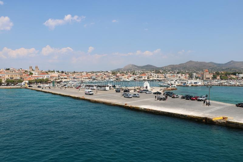 Aegina, Griekenland royalty-vrije stock afbeeldingen