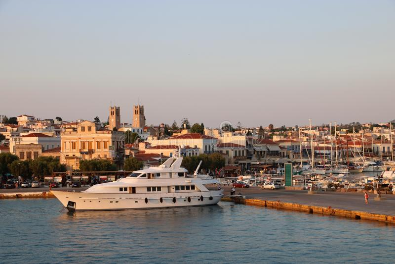 Aegina, Griekenland royalty-vrije stock fotografie