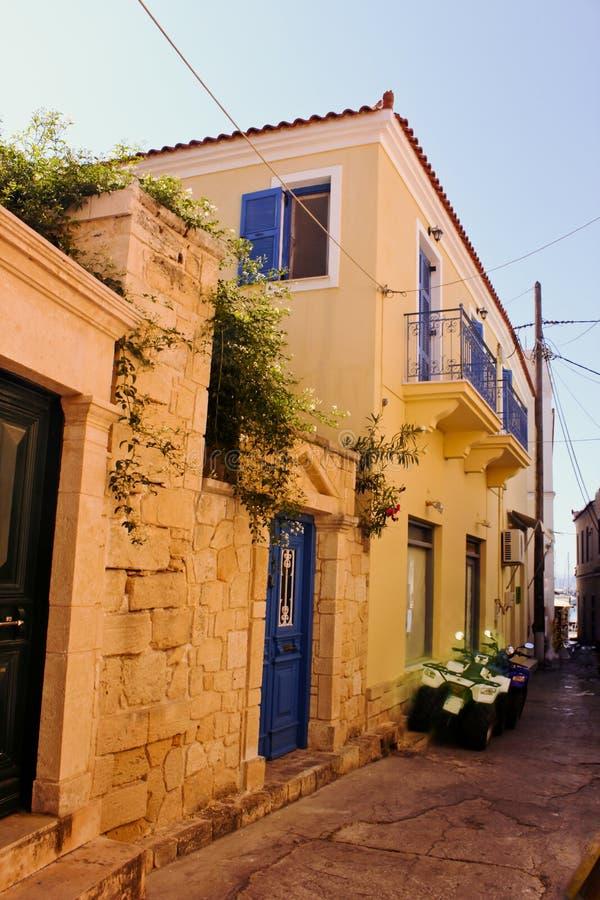 Aeginaeiland, Aegina-Stad, Griekenland royalty-vrije stock fotografie