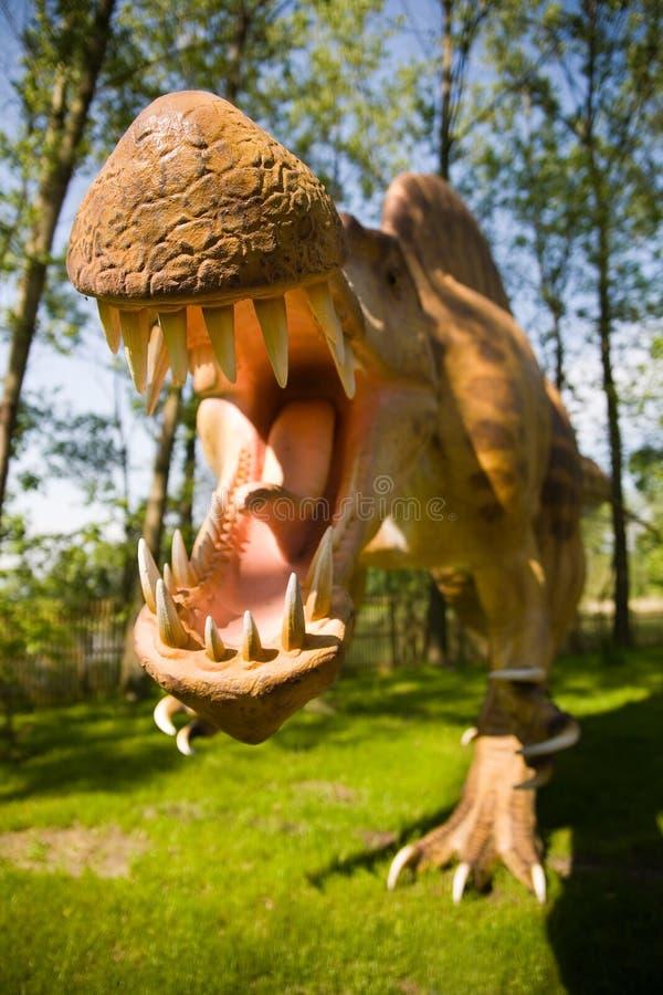 Aegyptiacus de Spinosaurus imagen de archivo