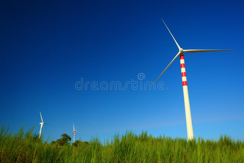 Aeolian Energy Royalty Free Stock Photography