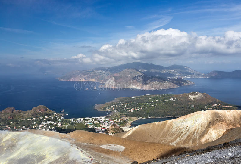 Aeolian Islands royalty free stock images
