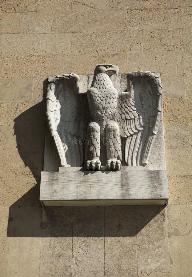 Aeródromo de Tempelhof, Berlim, Alemanha: 15 de agosto de 2018: Carro de Eagle fotos de stock royalty free