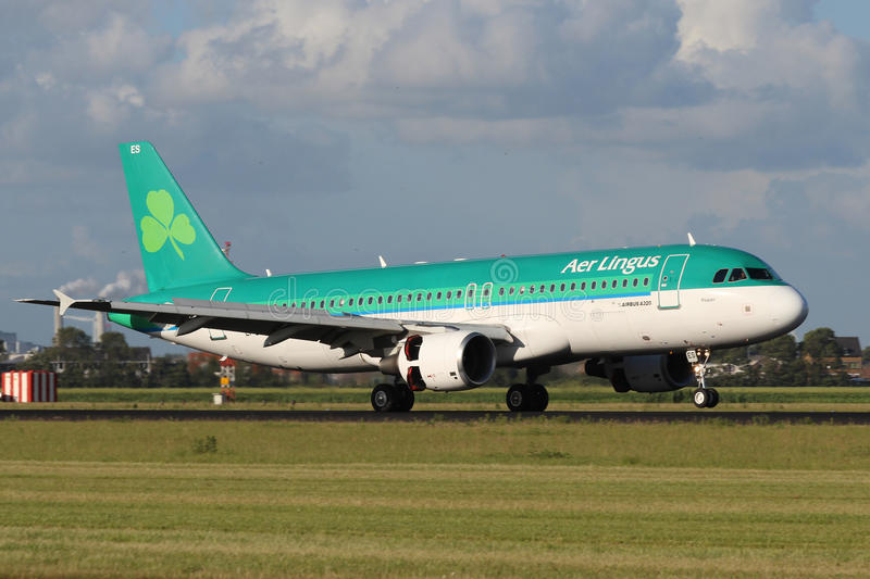 Download Aer Lingus Airbus A320 editorial photo. Image of commercial - 32750786