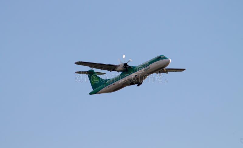 Download Aer Lingus Regional ATR 72-600 Editorial Photography - Image of irish, plane: 39014292