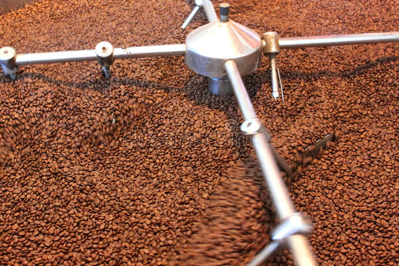 Download Aeration Roasted Coffee Beans Stock Photos - Image: 33718043