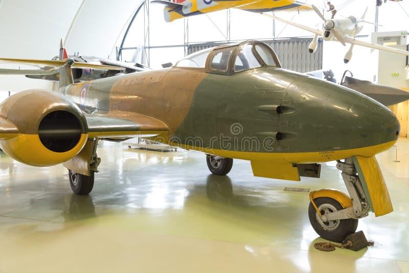 Aerei di aereo da caccia di guerra mondiale della meteora 2 immagine stock libera da diritti