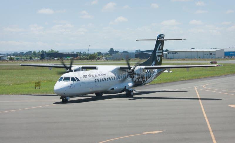 Aerei di Air New Zealand immagine stock libera da diritti