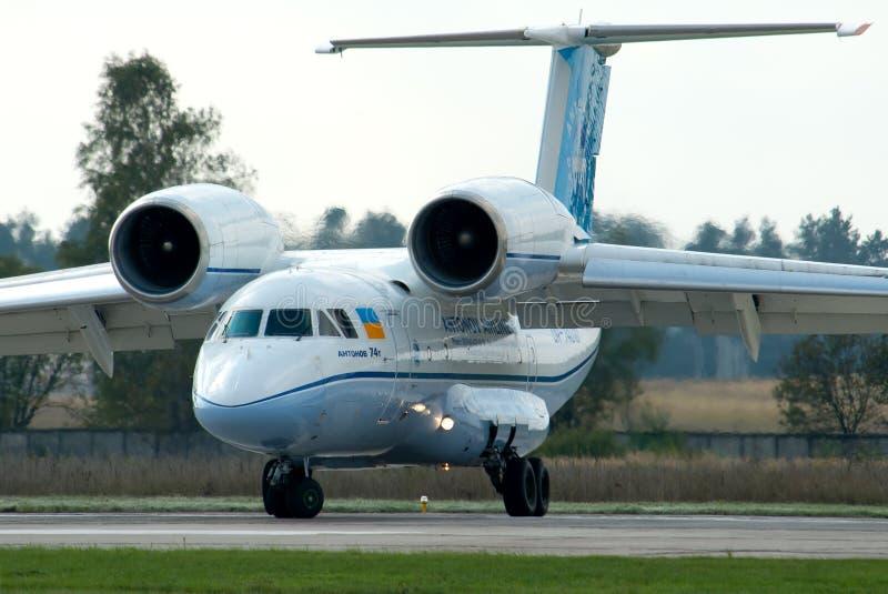 Aerei di Antonov An-74 immagini stock