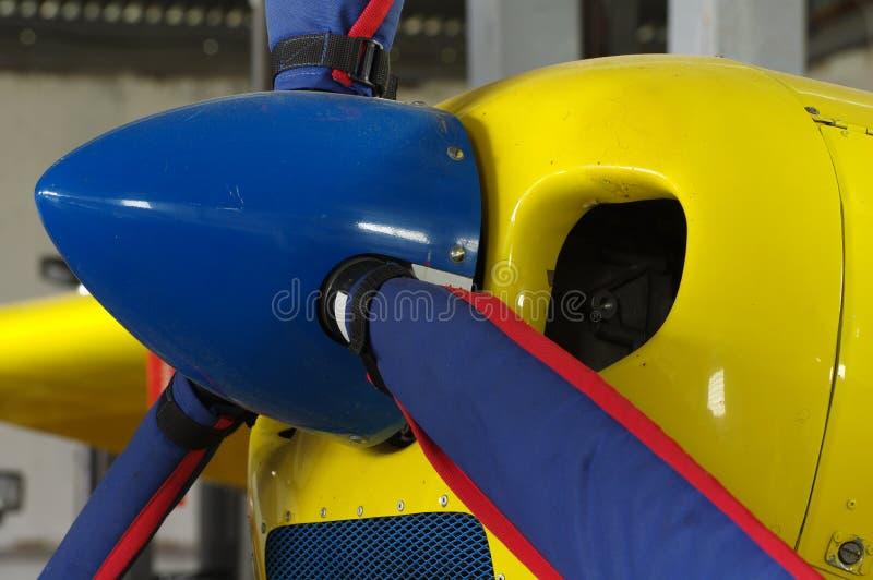 Aerei di sport dell'elica fotografia stock libera da diritti