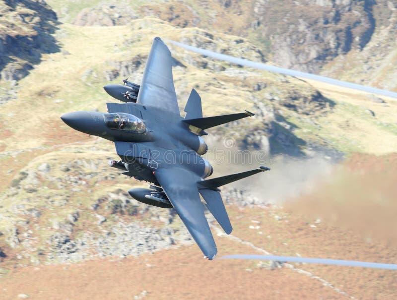 Aereo da caccia dell'aquila F15 fotografie stock libere da diritti