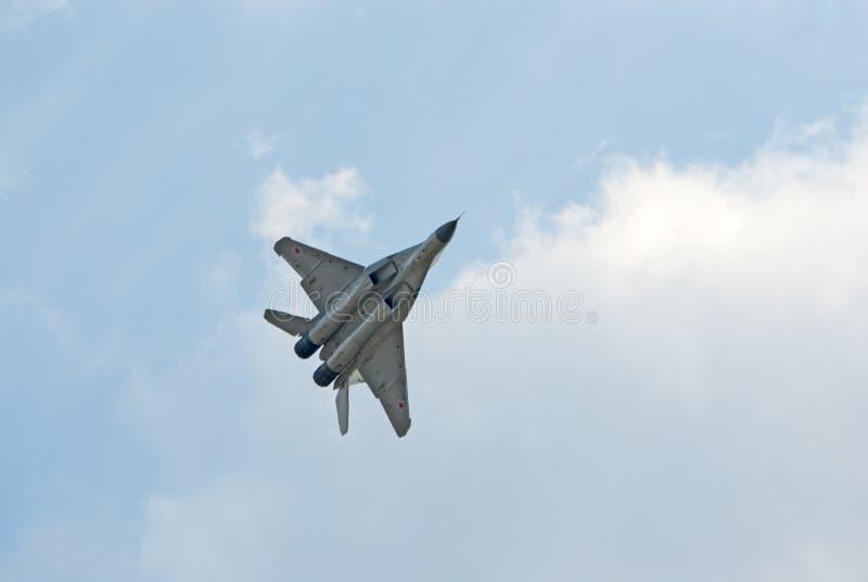 Aereo da caccia MiG-29 immagine stock