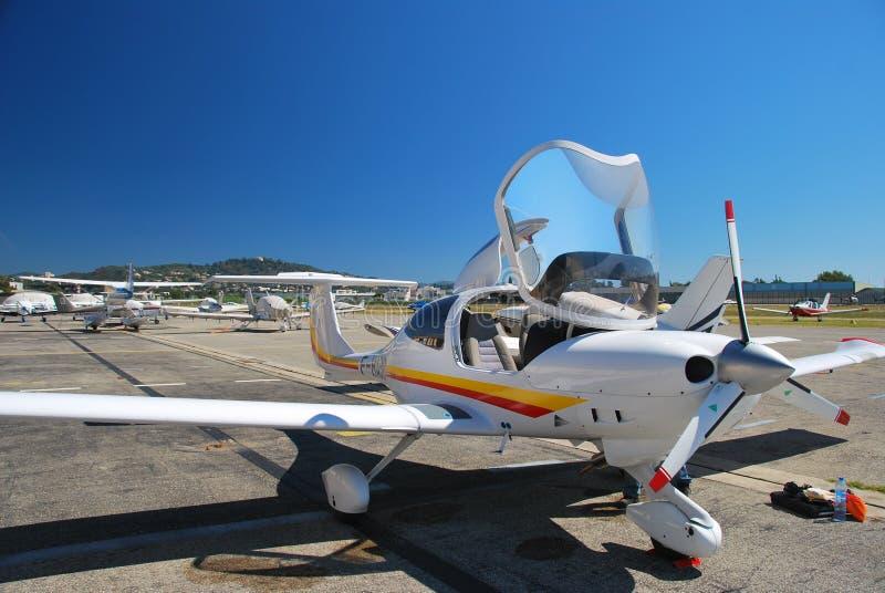 Aereo del Cessna fotografia stock
