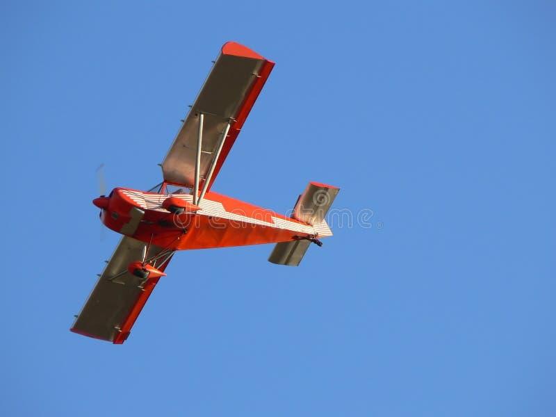 Download Aereo rosso fotografia stock. Immagine di velivolo, esplorazione - 3893252