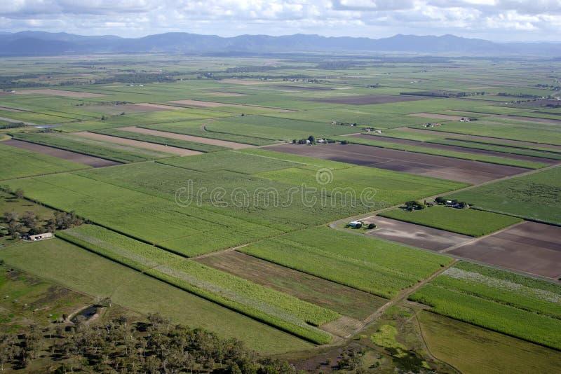 Aerial of Australian farm royalty free stock photo