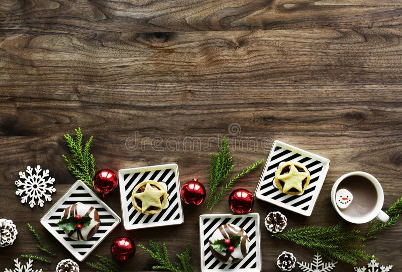Aerial, Background, Baubles royalty free stock image