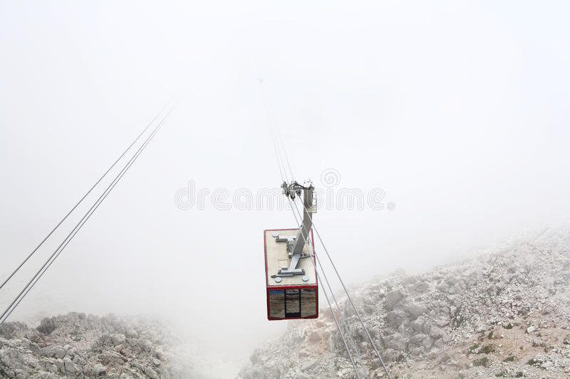 Aerial Cableway Royalty Free Stock Image