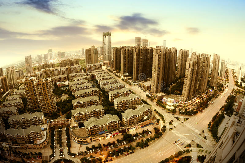 Download Aerial city stock photo. Image of growth, modern, image - 34122278