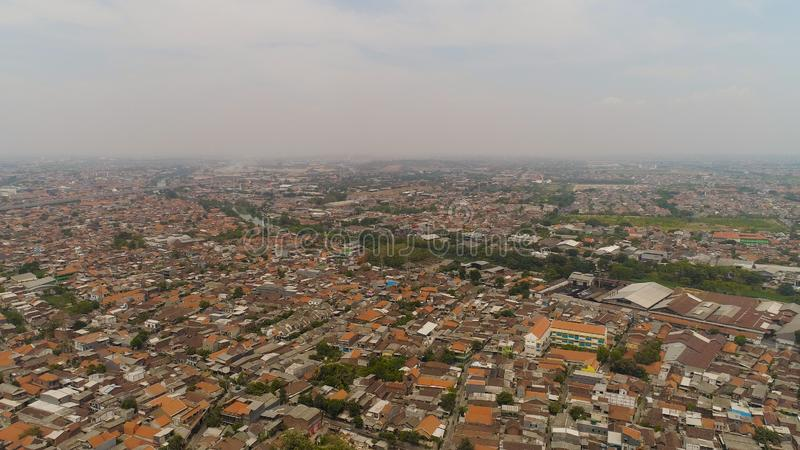 Surabaya capital city east java, indonesia royalty free stock photo