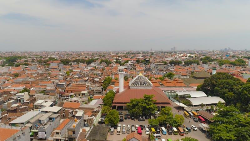 Surabaya capital city east java, indonesia royalty free stock photography