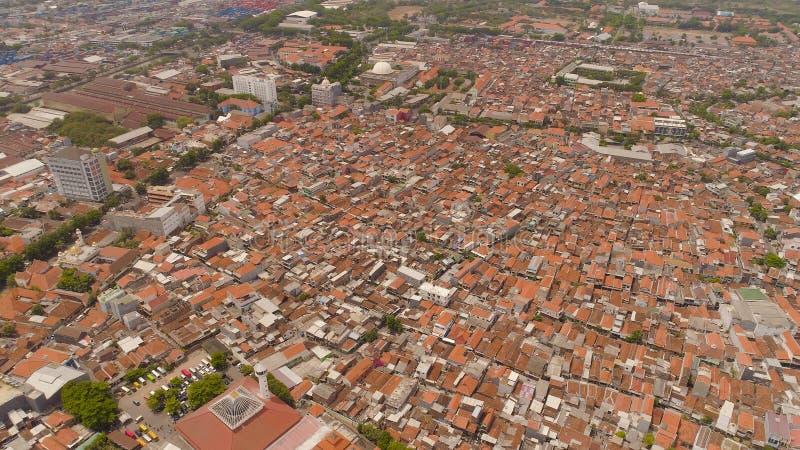 Surabaya capital city east java, indonesia stock photography