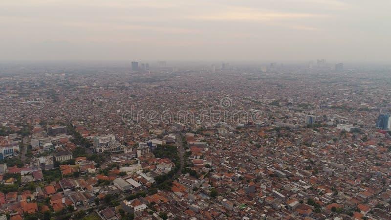 Surabaya capital city east java, indonesia royalty free stock images