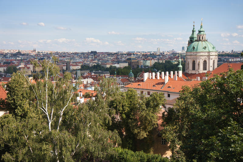 Download Aerial Cityscape of Praha stock image. Image of city - 19951995