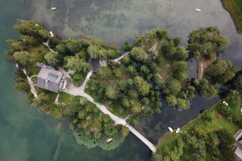 Champex Lac, Switzerland royalty free stock image