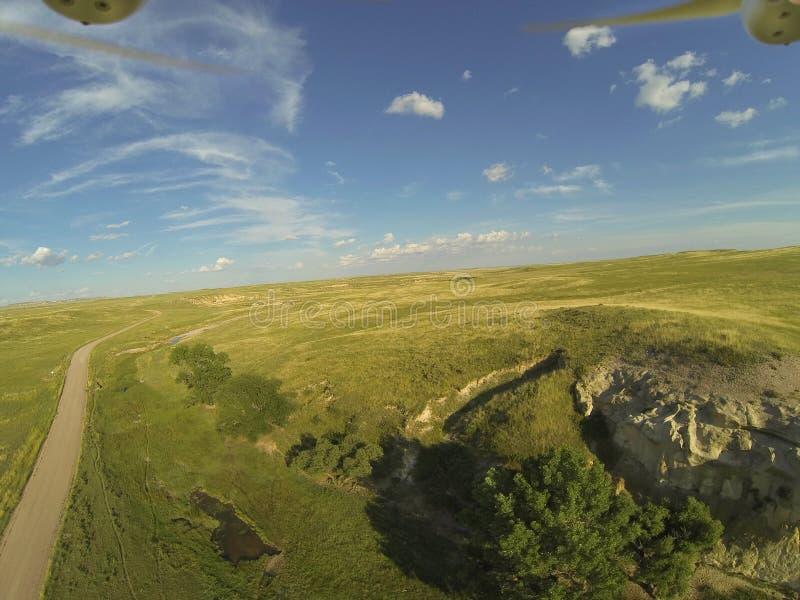 Aerial drone photogrpahy stock photos