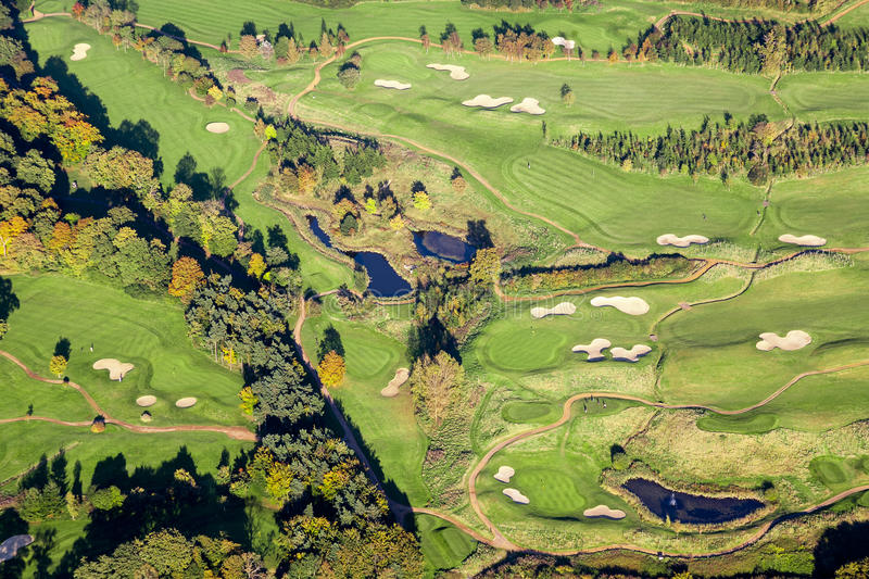 Download Aerial Golf Course stock photo. Image of outdoors, horizontal - 29160424