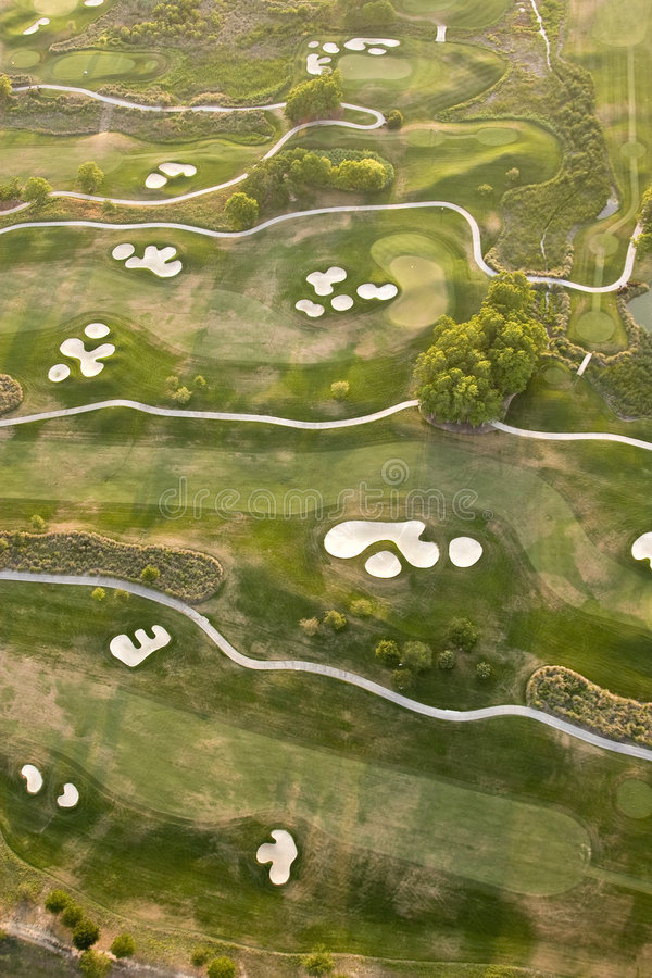 Download Aerial golf course stock image. Image of course, lush - 5123841