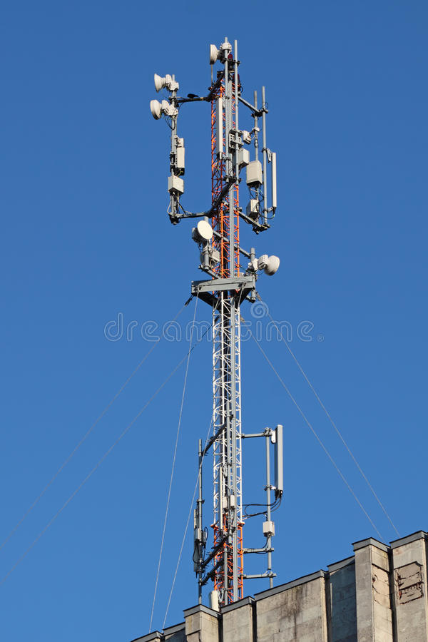 Download Aerial GSM stock photo. Image of global, industry, communication - 22719768