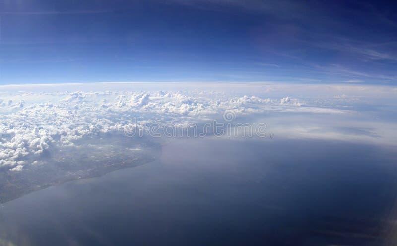 Aerial image stock photo