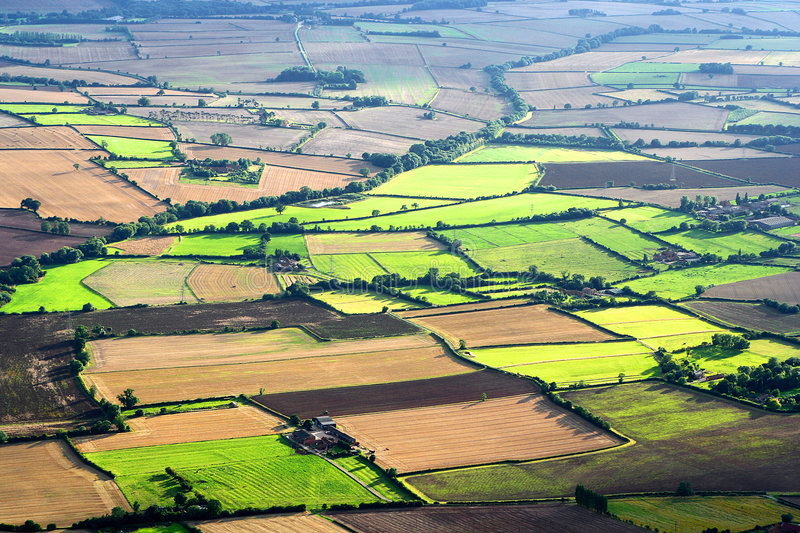Aerial Landscape royalty free stock photography