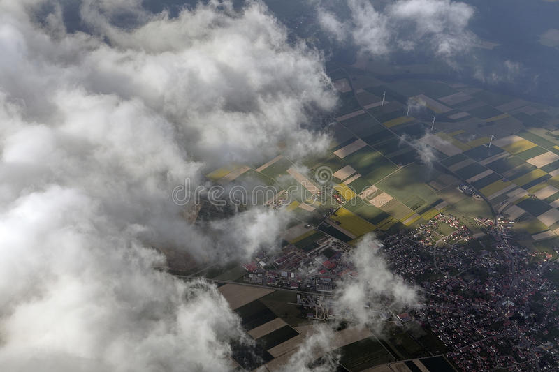 Aerial royalty free stock photos