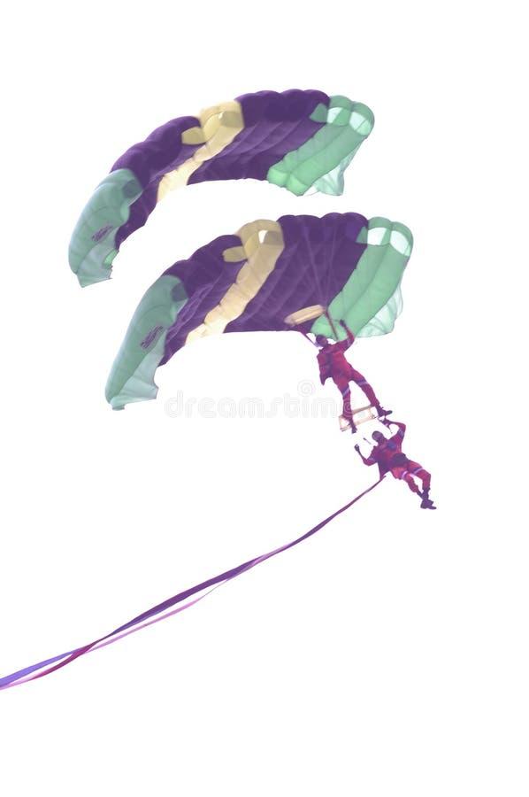 Aerial Parachute Performance Free Public Domain Cc0 Image