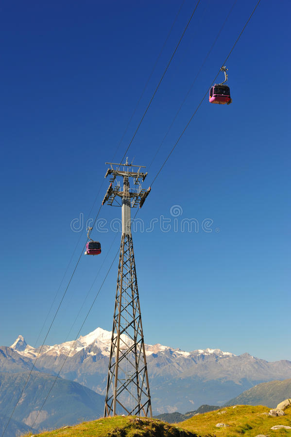 Download Aerial passenger line stock photo. Image of cableway - 15743922