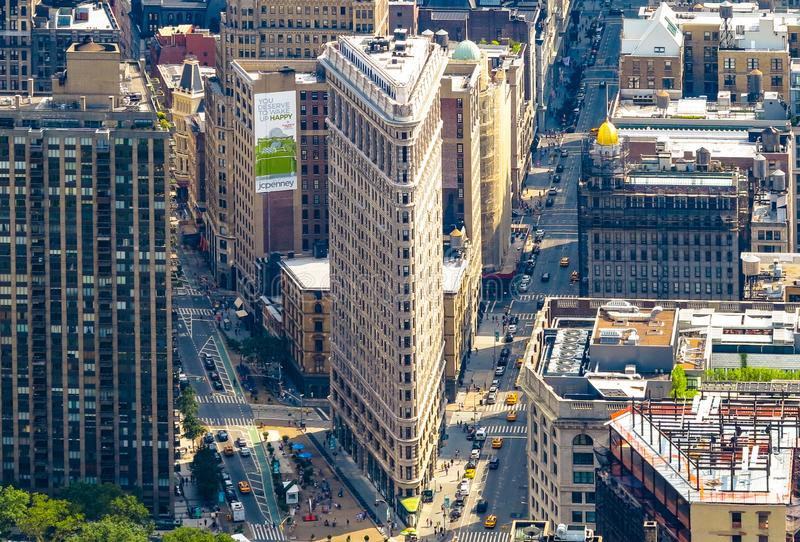 Aerial Photo of Buildings royalty free stock photos