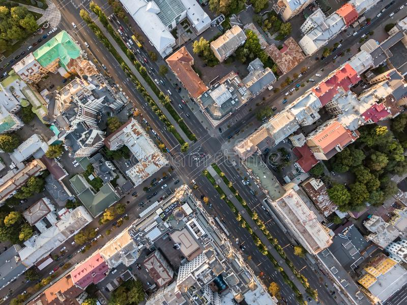 Download Aerial Photo Of Cityscape Stock Image Urban