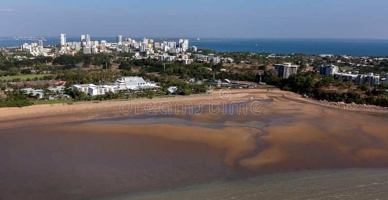 An aerial photo of Darwin, the capital city of the Northern Territory of Australia. An aerial photo of Darwin, the capital city of the Northern Territory of royalty free stock photo