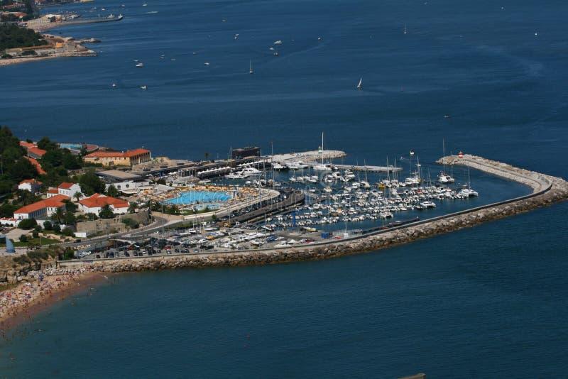 Download Aerial photo of a marina stock image. Image of marina - 24420485