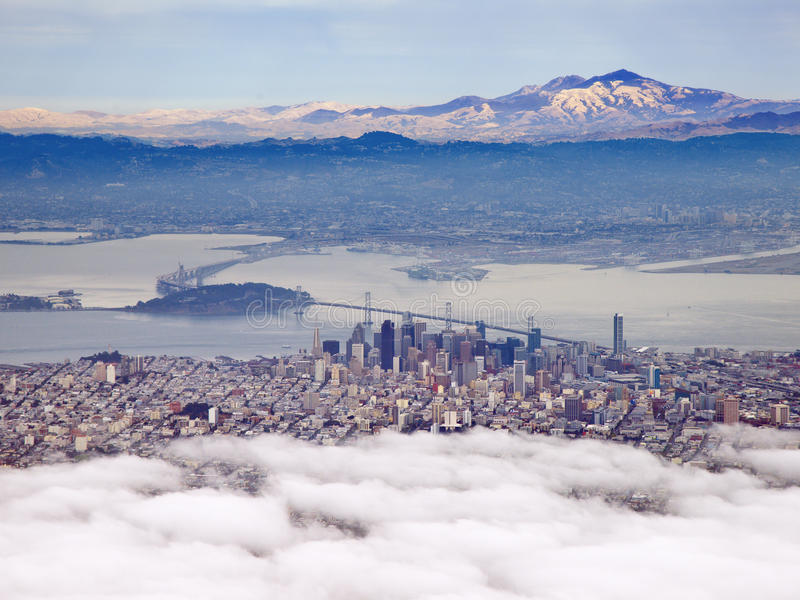 Download Aerial Photograph Of San Francisco And The Bay Area Stock Image - Image: 30622111